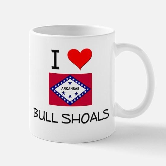 I Love BULL SHOALS Arkansas Mugs