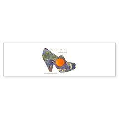 artsciencespirit shoe Bumper Sticker