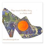 artsciencespirit shoe Square Car Magnet 3