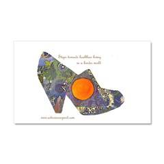 artsciencespirit shoe Car Magnet 20 x 12