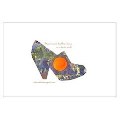 artsciencespirit shoe Posters