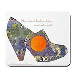 artsciencespirit shoe Mousepad