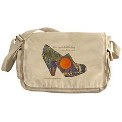 artsciencespirit shoe Messenger Bag