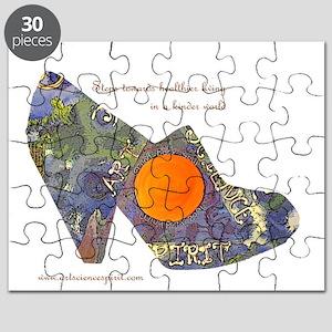 artsciencespirit shoe Puzzle