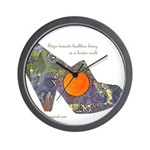 artsciencespirit shoe Wall Clock