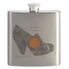 artsciencespirit shoe Flask