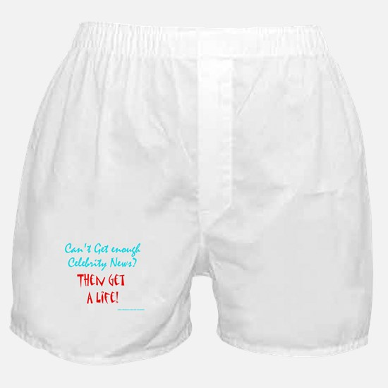Celeb Gossip Boxer Shorts