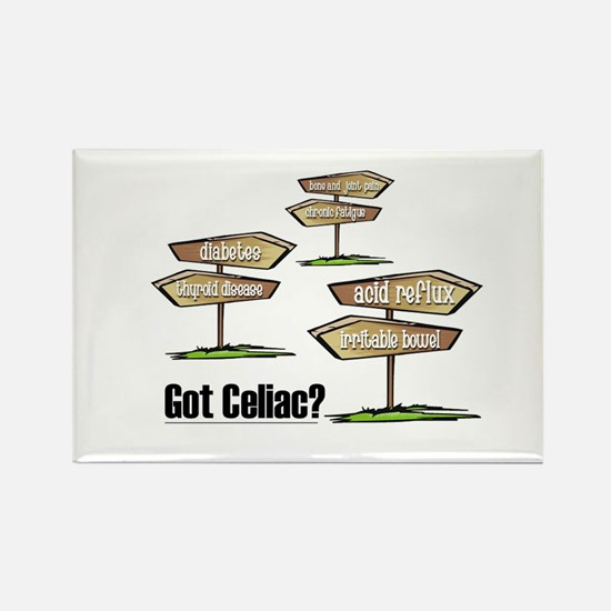 Got Celiac? Rectangle Magnet