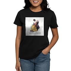 Knitting - Music for the Soul Women's Dark T-Shirt