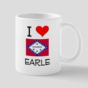 I Love EARLE Arkansas Mugs