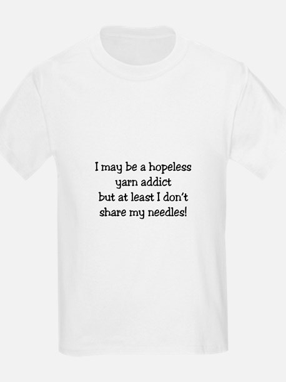 Knitting - Don't Share Needles T-Shirt