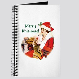 Merry Knit-mas Journal