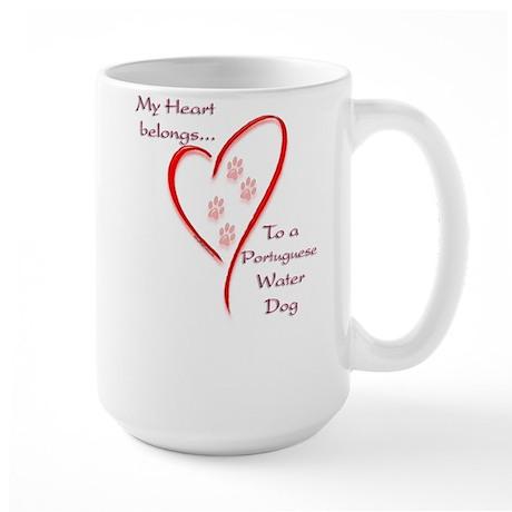 PWD Heart Belongs Large Mug