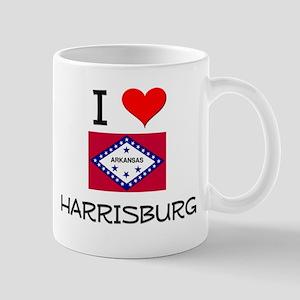 I Love HARRISBURG Arkansas Mugs