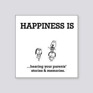 Meaning of Happiness Sticker