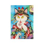 Sushi Kitty Rectangle Magnet