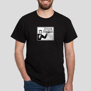Male Acting Student Dark T-Shirt