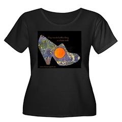 artsciencespirit shoe Plus Size T-Shirt