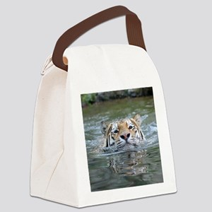 Tiger005 Canvas Lunch Bag