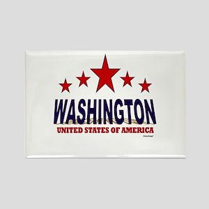 Washington U.S.A. Rectangle Magnet