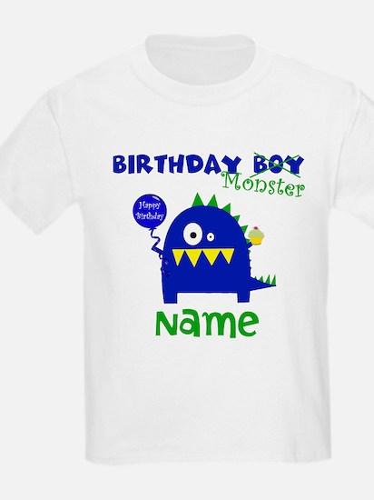 Birthday Boy Monster T-Shirt