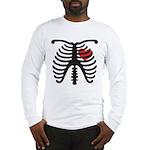 Heart and Bones Long Sleeve T-Shirt