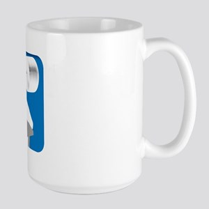 VINTAGE BENCH PRESS Large Mug