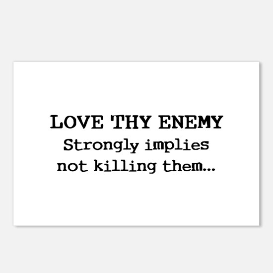 Love Thy Enemy? Postcards (Package of 8)