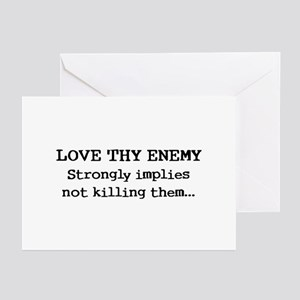 Love Thy Enemy? Greeting Cards (Pk of 10)