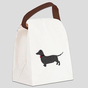Spot the Dachshund Canvas Lunch Bag
