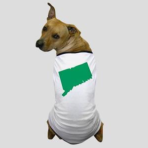 Kentucky State Shape Outline Dog T-Shirt