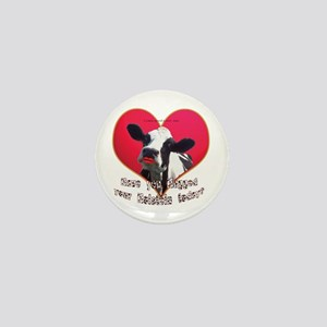 Cows Need Love Mini Button