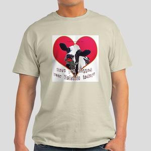 Cows Need Love Ash Grey T-Shirt