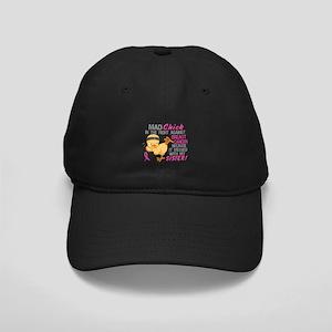 Mad Chick 3L Breast Cancer Black Cap