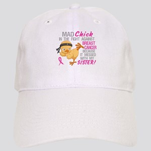 Mad Chick 3L Breast Cancer Cap