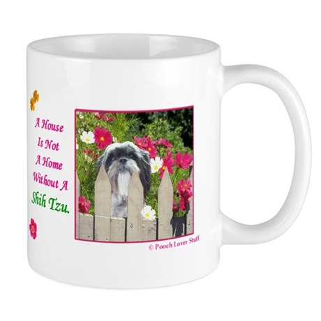 Shih Tzu (Black & White) Mug
