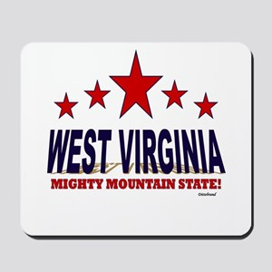 West Virginia Mighty Mountain State Mousepad