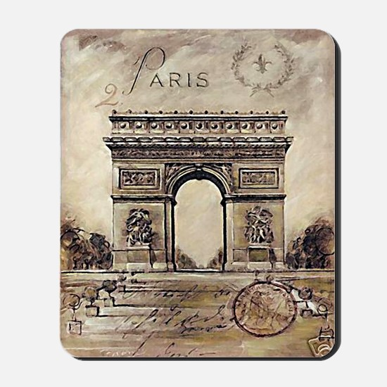 """We'll always have Paris"" Mousepad"