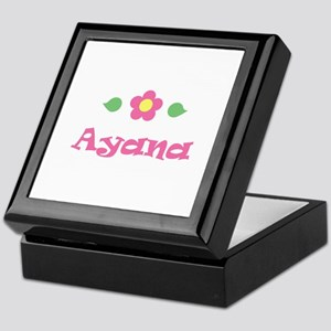 """Pink Daisy - """"Ayana"""" Keepsake Box"""