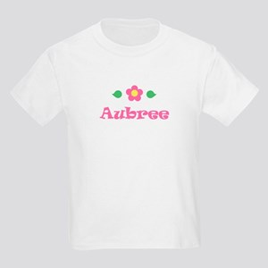 """Pink Daisy - """"Aubree"""" Kids T-Shirt"""