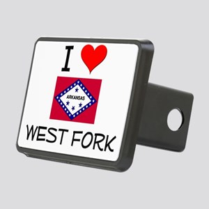 I Love WEST FORK Arkansas Hitch Cover