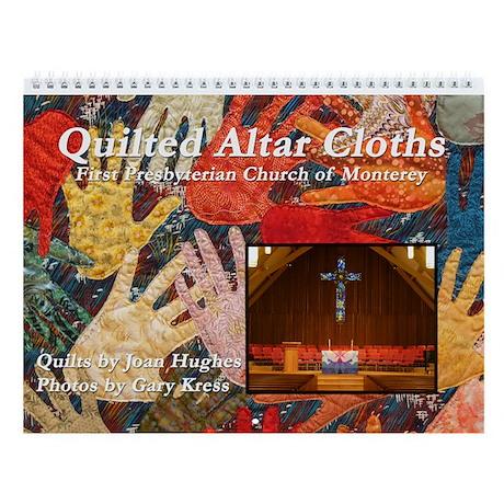 Quilted Altar Cloth Wall Calendar