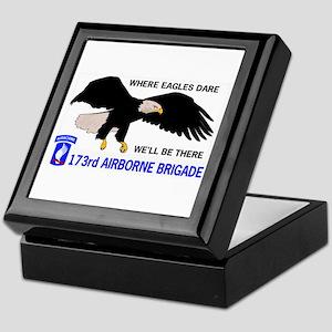 173rd AIRBORNE Keepsake Box