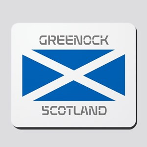 Greenock Scotland Mousepad