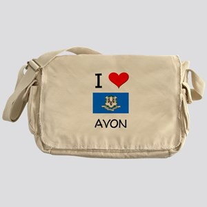 I Love Avon Connecticut Messenger Bag