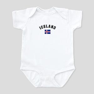 Iceland Flag Infant Bodysuit