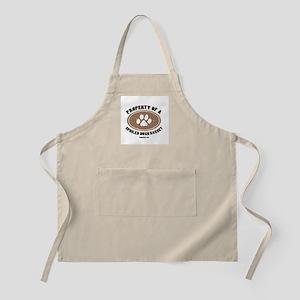 Hush Basset dog BBQ Apron
