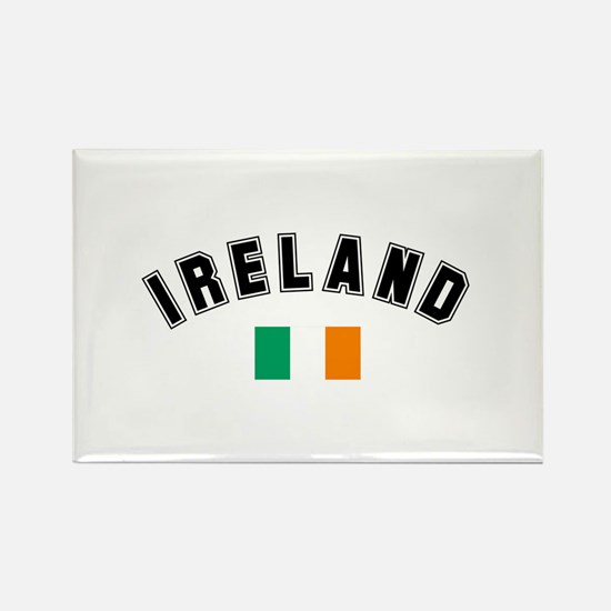 Irish Flag Rectangle Magnet (10 pack)