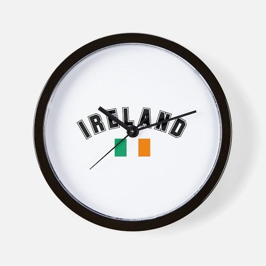 Irish Flag Wall Clock