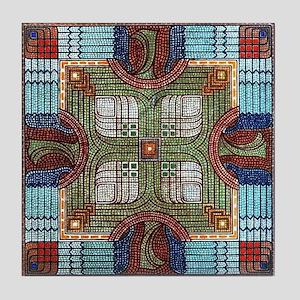 Art Deco Beads Tile Coaster